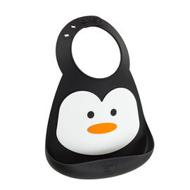 Make My Day Chill-Out Penguin Silicone Bib