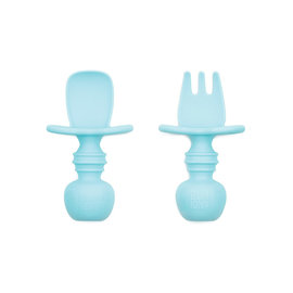 Blue Silicone Chewtensils