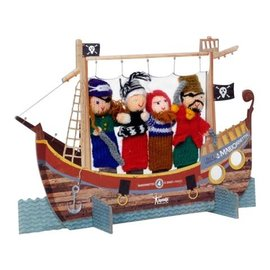 Pirates Finger Puppet Theatre