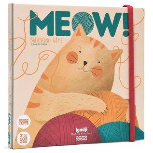 Londji Meow Wooden Balancing Game