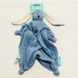 Hoppa Deep Blue Hoppa Tino Organic Bonding Bunny