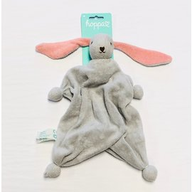 Hoppa Silver Grey Hoppa Tino Organic Bonding Bunny