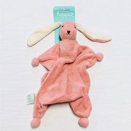 Hoppa Old Rose Hoppa Tino Organic Bonding Bunny