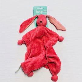Hoppa Dark Coral Hoppa Tino Organic Bonding Bunny