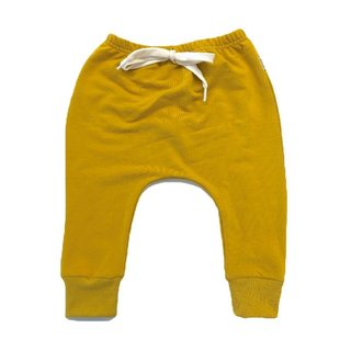 The Gold Terry Joggers