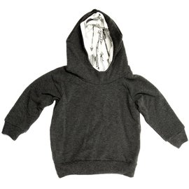 Portage and Main The Charcoal Terry Hoodie