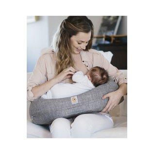 ERGObaby Heather Grey Ergobaby Natural Curve Nursing Pillow