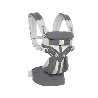 ERGObaby Ergo Omni 360 Cool Air Mesh, Carbon Grey