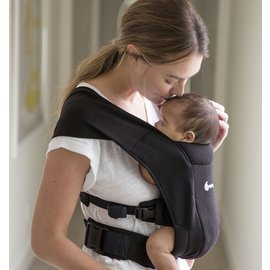 ERGObaby Pure Black, Ergo Embrace