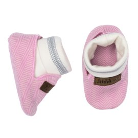Juddlies Sunset Pink Organic Cottage Slipper