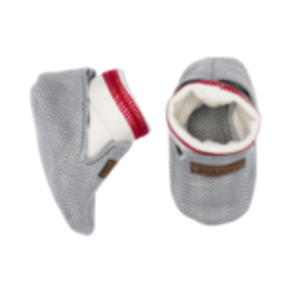 Juddlies Driftwood Grey Organic Cottage Slipper