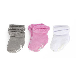 Juddlies Pink Infant Socks 6-Pack