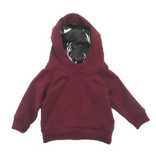 Portage and Main The Maroon Terry Hoodie