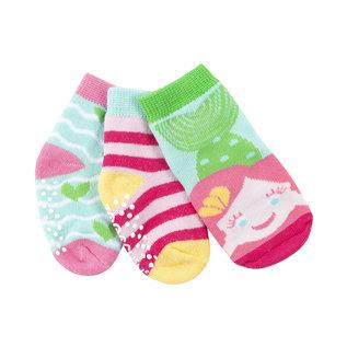 Zoochini Marietta Mermaid Socks, 0-24m, 3pk