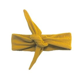 Portage and Main The Gold Top Knot Headband