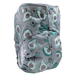 La Petite Ourse One-Size Snap Pocket Diaper, Guacamole