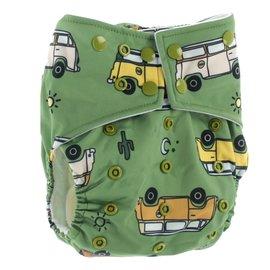La Petite Ourse One-Size Snap Pocket Diaper, Time Off