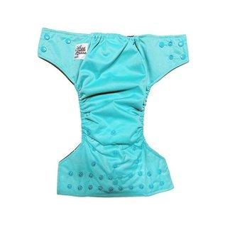 La Petite Ourse One-Size Snap Pocket Diaper, Turquoise