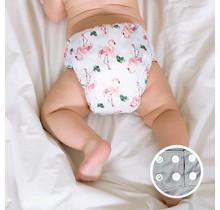 Flamingo One-Size Snap Pocket Diaper