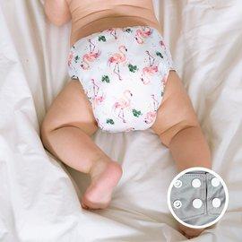 La Petite Ourse AIO Diaper, Flamingo