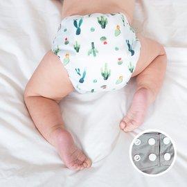 La Petite Ourse One-Size Snap Pocket Diaper, Cactus