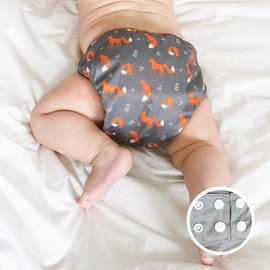 La Petite Ourse AIO Diaper, Little Fox