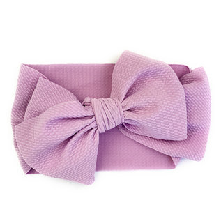 Giant Lavender Lana Bow Headband