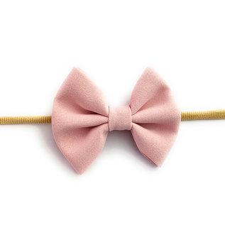 Baby Wisp Powder Pink Fanny Bow