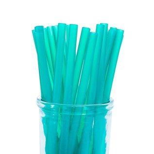 Green Silicone Straw, Colibri