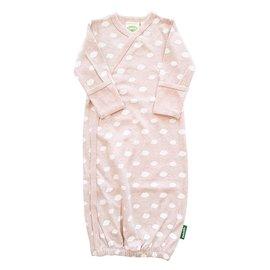 Parade Organics Little Clouds Pink Organic Kimono Gown