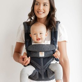ERGObaby Ergo Omni 360 Cool Air Mesh, Blue Tweed