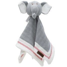 Juddlies Organic Driftwood Grey Cottage Lovey, Elephant