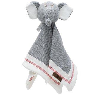 Organic Driftwood Grey Cottage Lovey, Elephant
