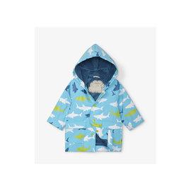 Hatley Great White Sharks Baby Raincoat
