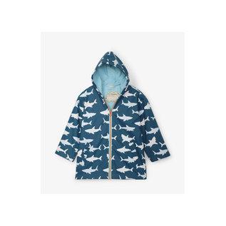 Hatley Great White Sharks Colour Changing Splash Jacket