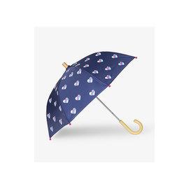 Hatley Striped Hearts Umbrella
