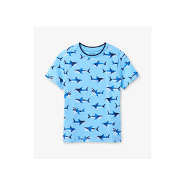 Hatley Shark Frenzy Graphic Tee