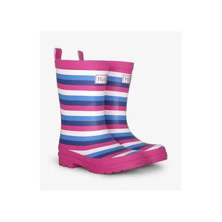 Hatley Summer Stripe Matte Rain Boots
