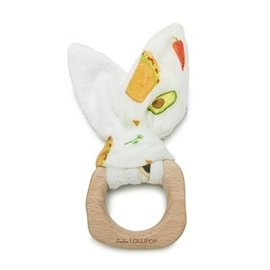 Loulou Lollipop Taco Bunny Ear Teething Ring