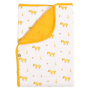 Kyte Baby Mustard Savanna Bamboo Baby Blanket