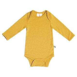 Kyte Baby Mustard Long Sleeve Bamboo Bodysuit