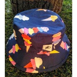 Puffin Gear Navy Ice Cream Camp Hat