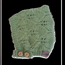 Nooks Sage Merino Wool Bonnet