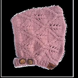 Nooks Lilac Merino Wool Bonnet