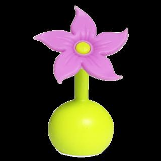 Haakaa Purple Flower Pump Stopper