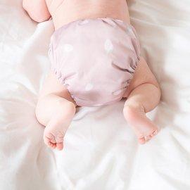 La Petite Ourse Newborn Cloth Diaper - Strawberry