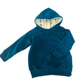Portage and Main The Blue Terry Hoodie