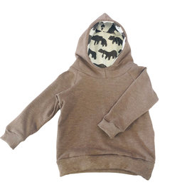 Portage and Main The Chocolate Terry Hoodie