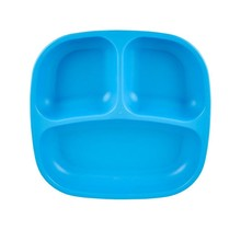 Sky Blue Re-Play Divided Plate