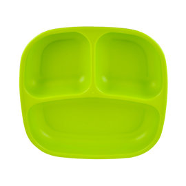 Re-Play Green Re-Play Divided Plate